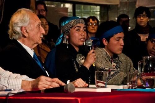 157r. Mapuche session chile