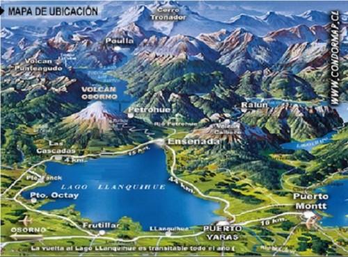 143o .jezioro lalanquihe puuerto varas dookola