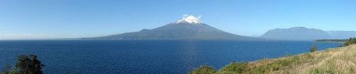 143q Osorno Volcano stitched panoramic view, 2010