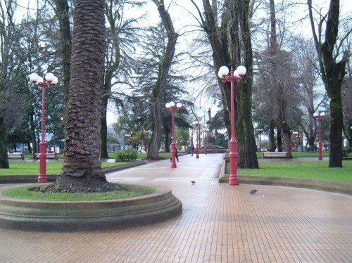 7. Chillan plaza de armas